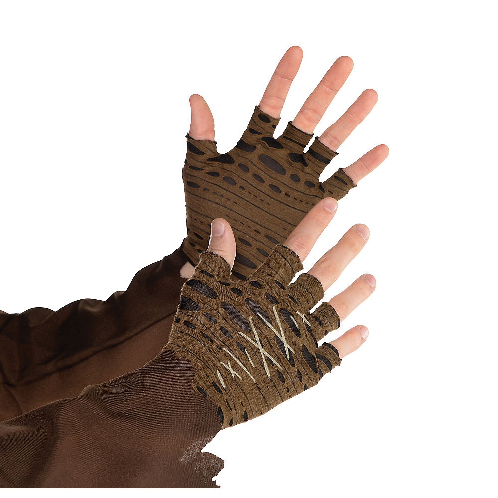 Witch Doctor Fingerless Gloves Image #1