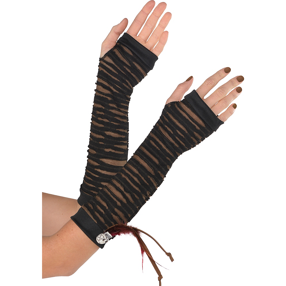 Long Witch Doctor Gloves Image #1