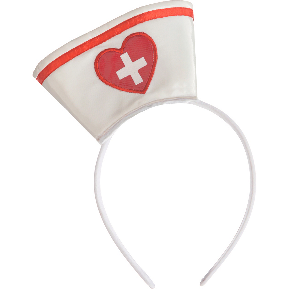 Mini Nurse Hat Headband Image #2
