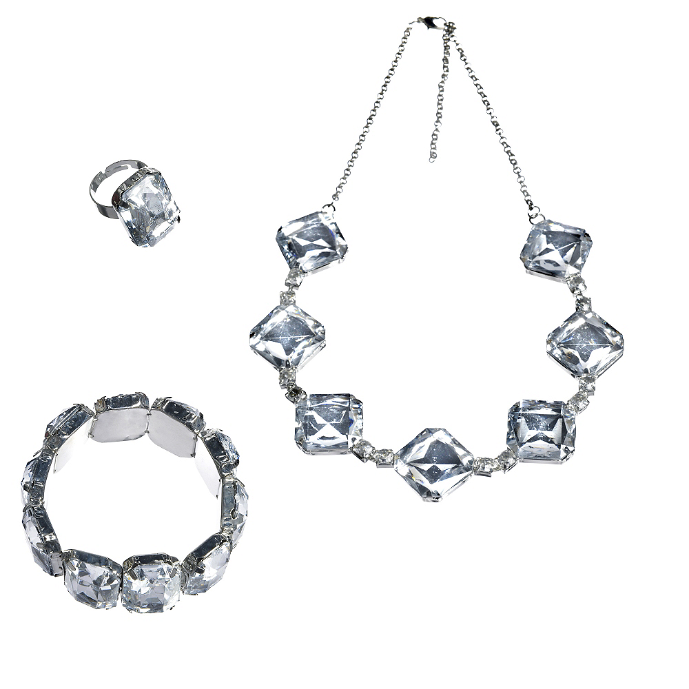 20s Gem Jewelry Set 3pc Image #1