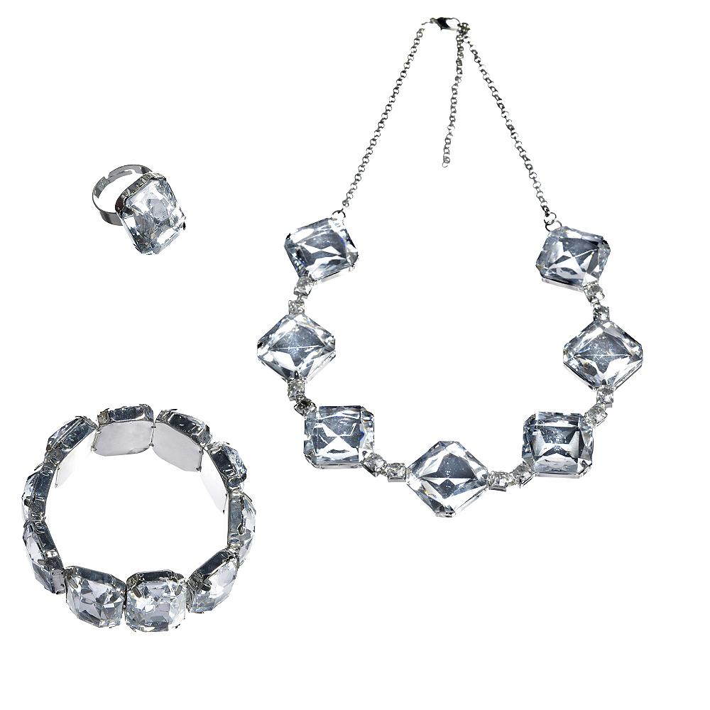 20s Gem Jewelry Set 3pc Image #1