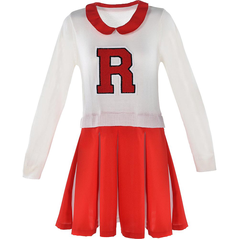 Red Cheerleader Dress Image #2