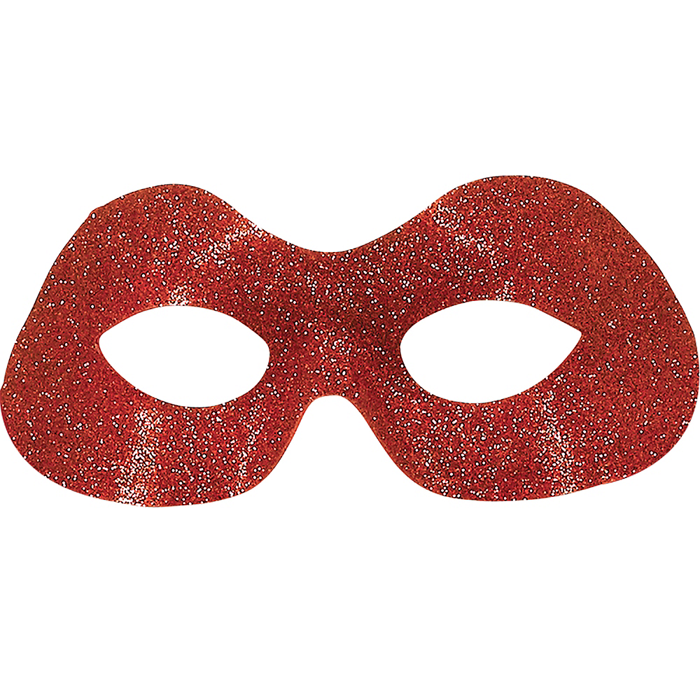 Glitter Raphael Mask - Teenage Mutant Ninja Turtles Image #1