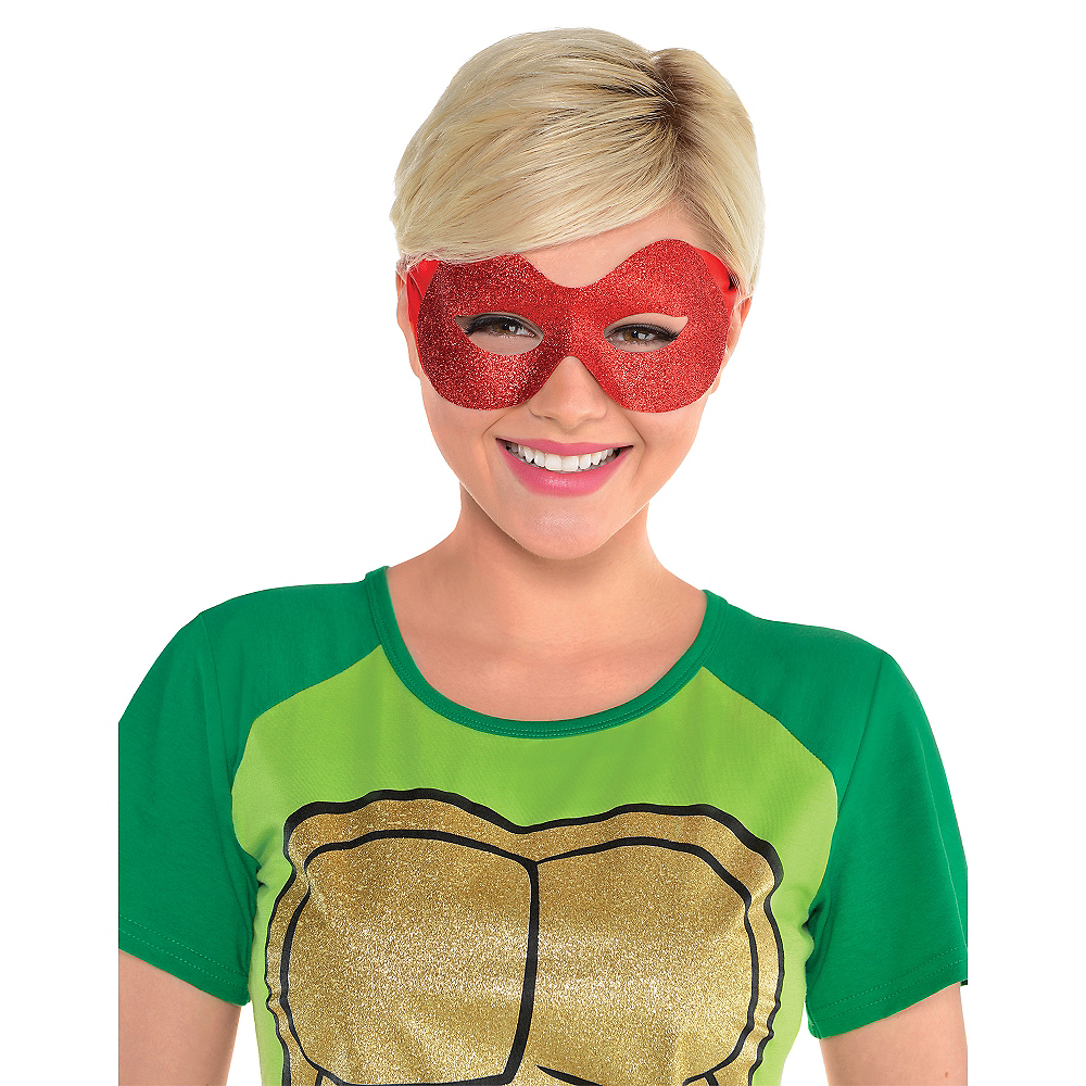 Glitter Raphael Mask - Teenage Mutant Ninja Turtles Image #2
