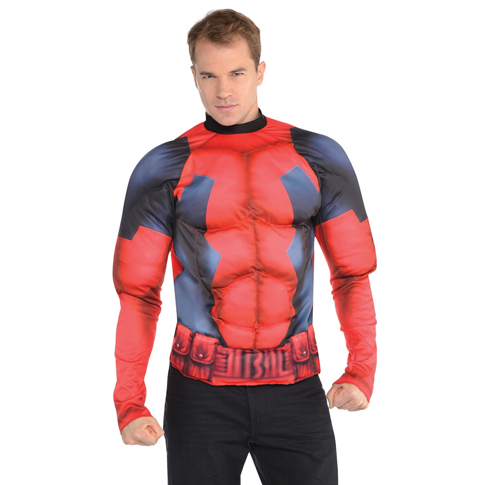 Deadpool Muscle Shirt Image #2