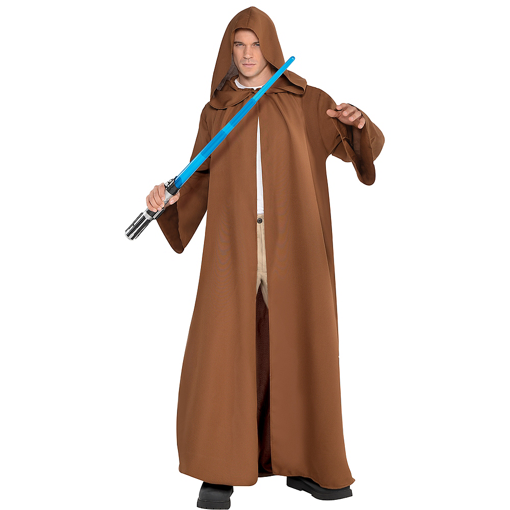 Jedi Robe Adult Star Wars Costume Halloween Fancy Dress