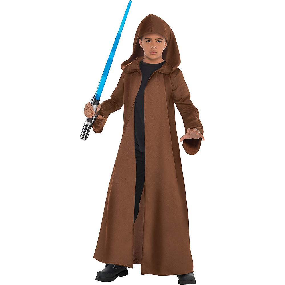 Child Brown Jedi Robe Image #1