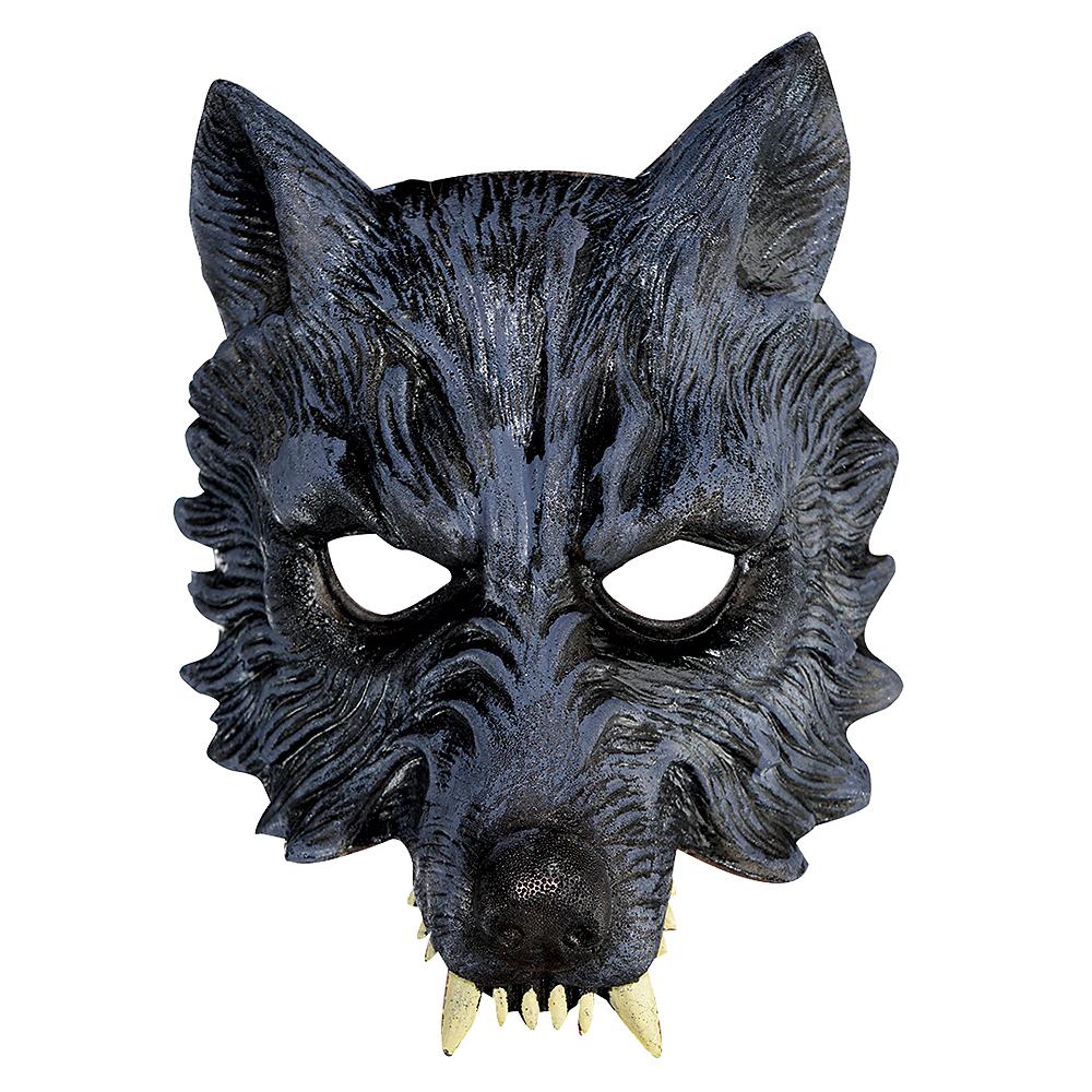 Werewolf Half Mask Image #1