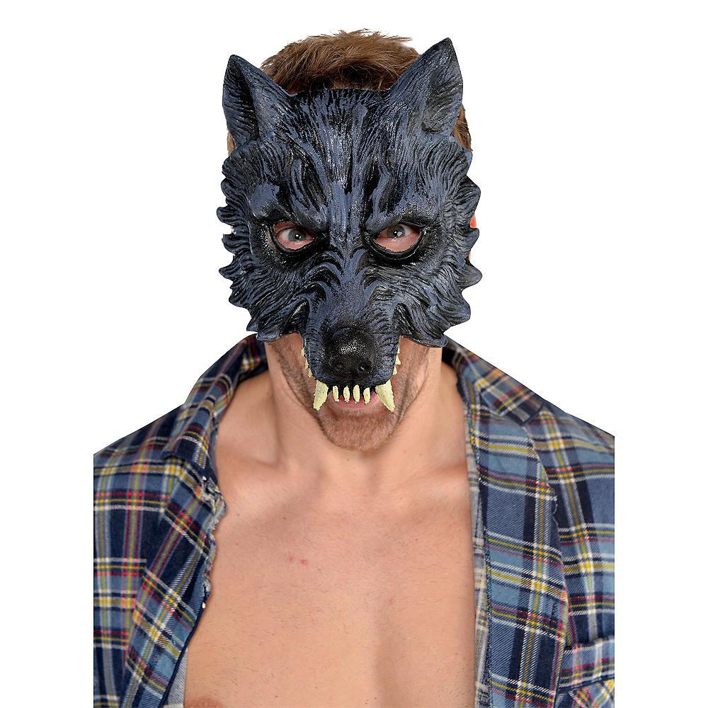 Werewolf Half Mask Image #2