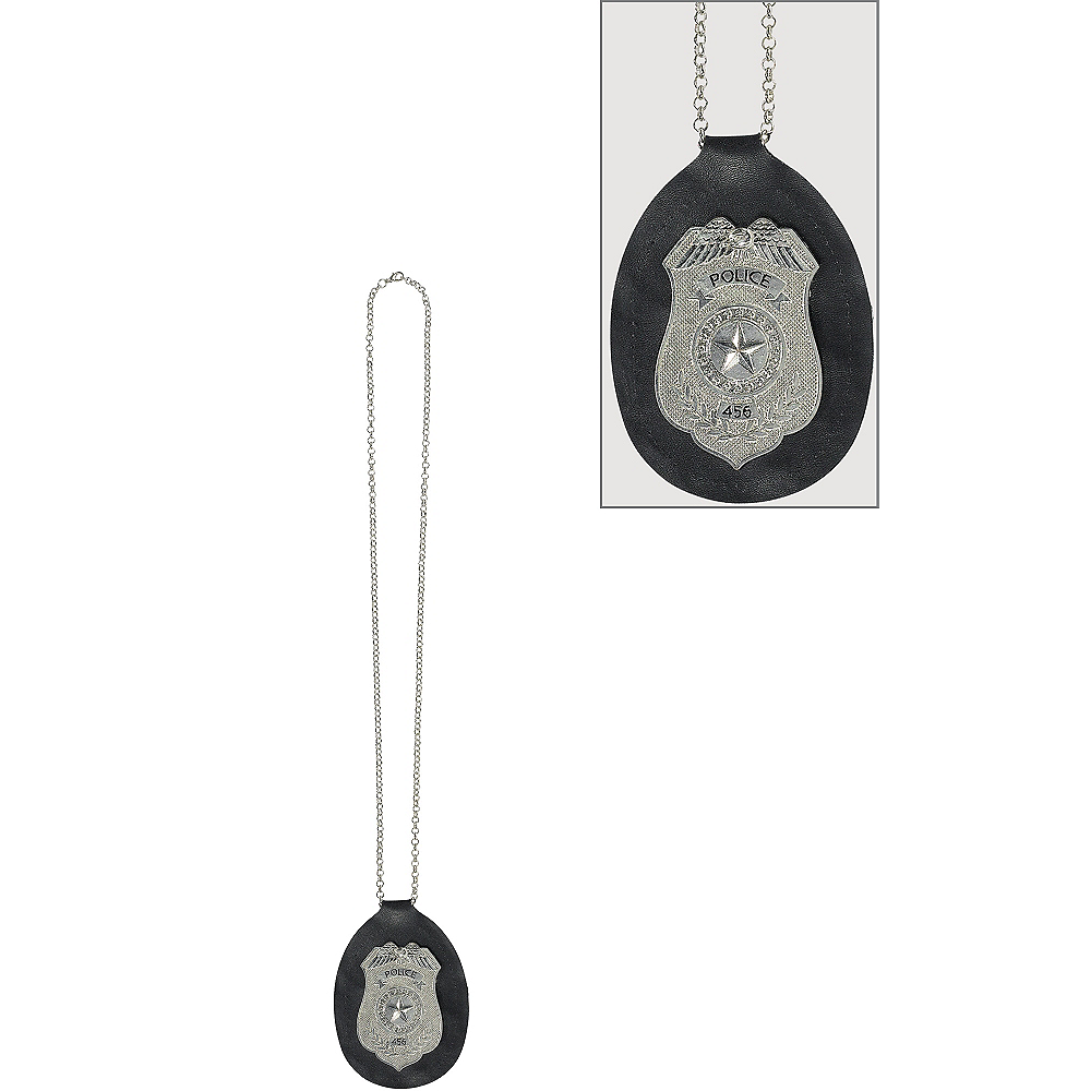 Police Badge Necklace Image #1