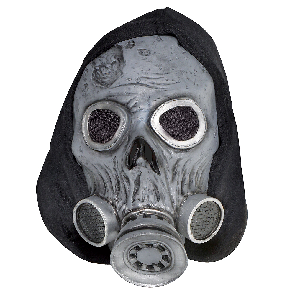 Zombie Gas Mask Image #1