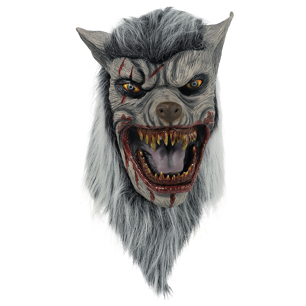 Nav Item for Bloody Werewolf Mask Image #1