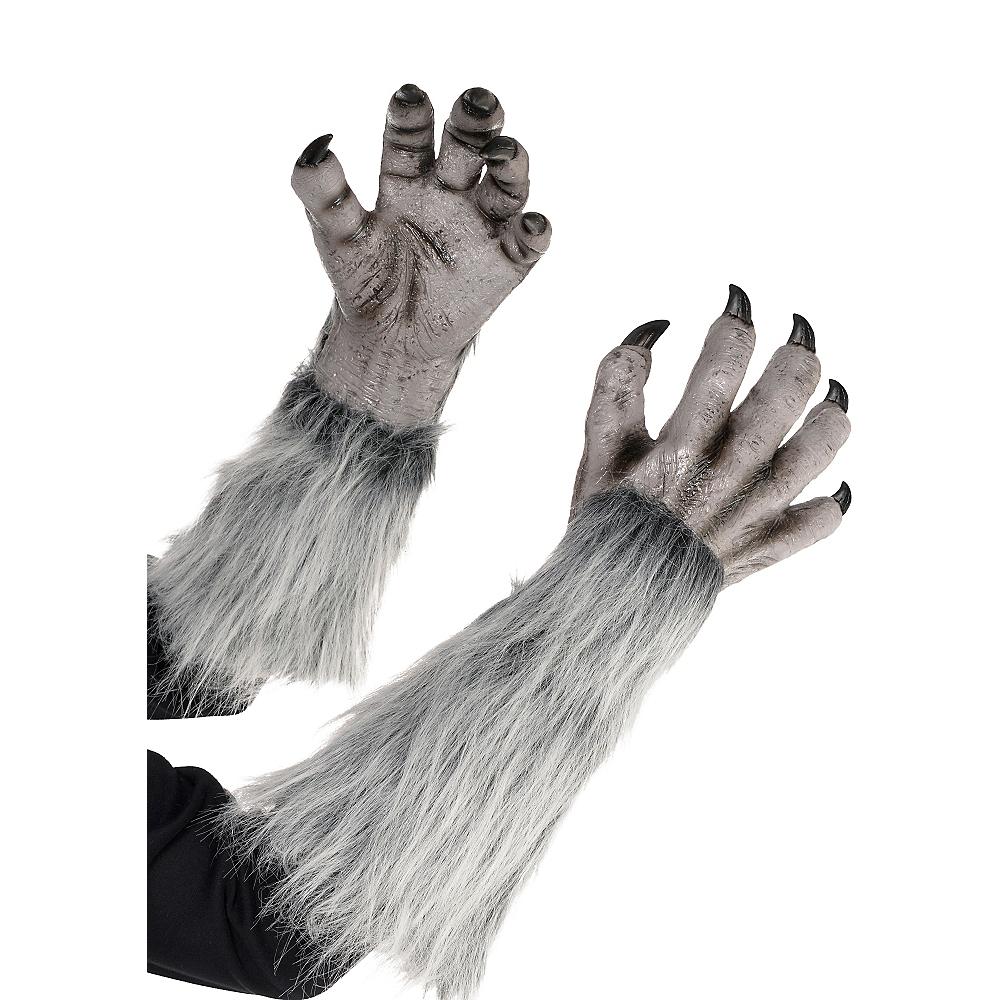 Gray Werewolf Gloves Image #1