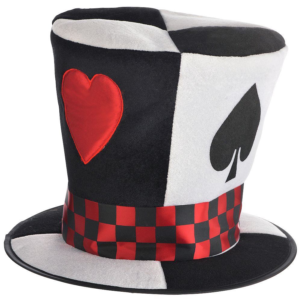 Poker Card Top Hat Image #1