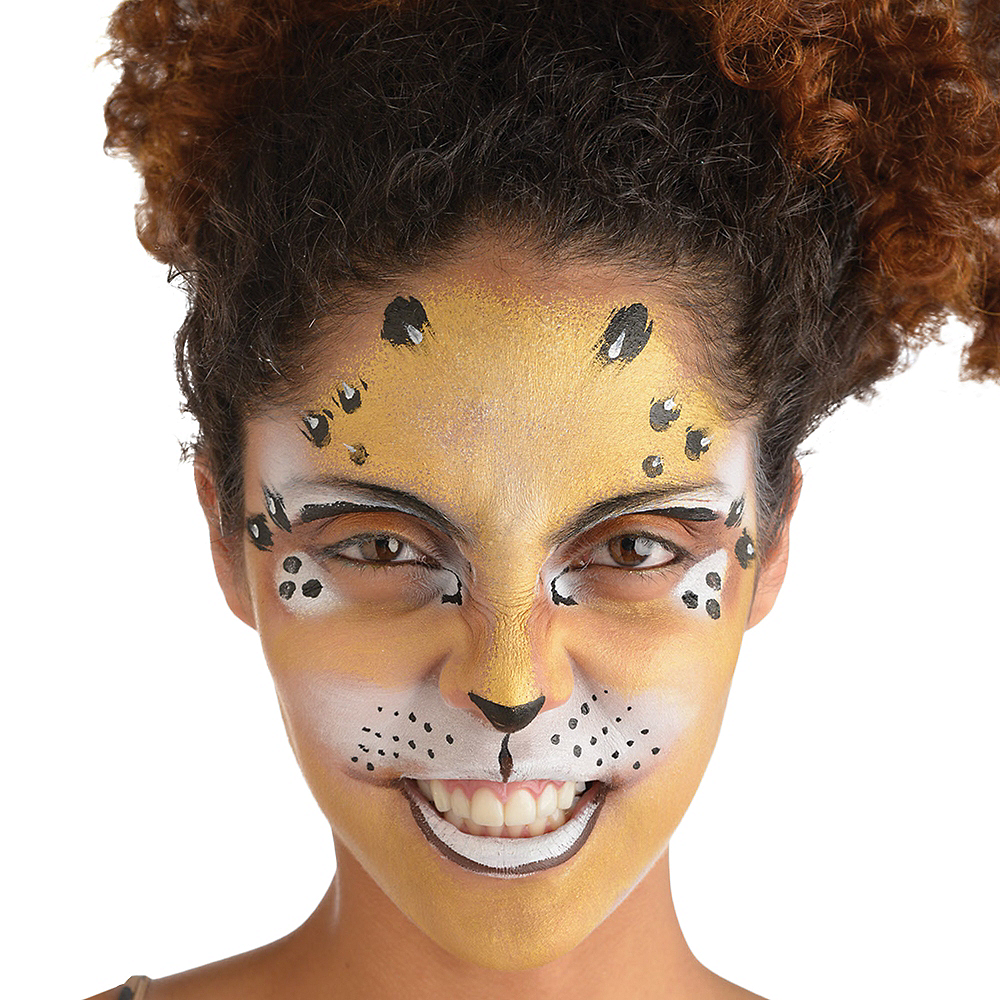 All-In-One Halloween Makeup Kit 18pc Image #2
