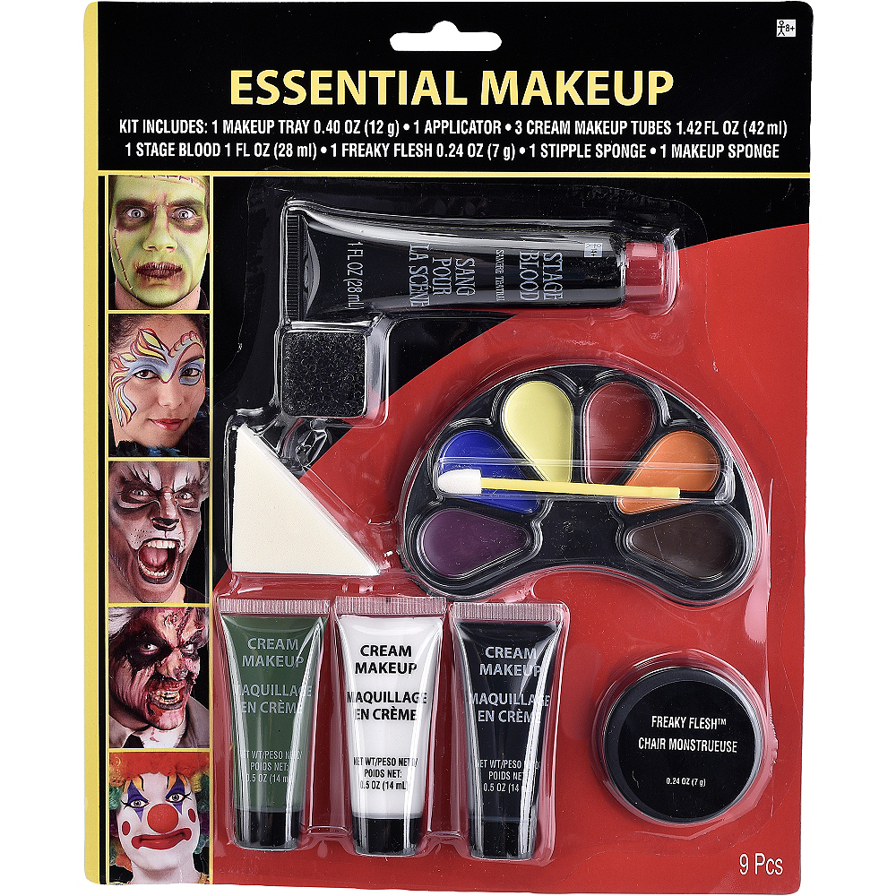 Halloween Makeup Essentials Kit 9pc Image #1