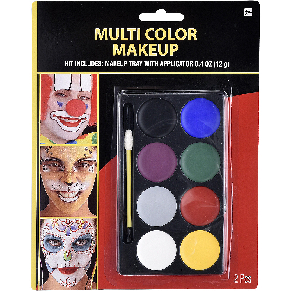 Multicolor Makeup Kit 2pc Image #1