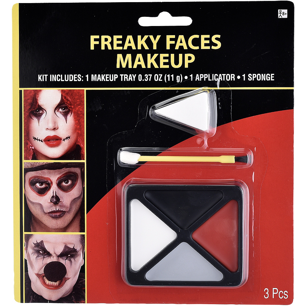 Freaky Face Makeup Kit 3pc Image #1