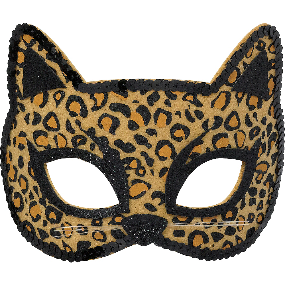 9456b7774046 Child Leopard Mask 7 1/4in x 4 1/4in | Party City Canada