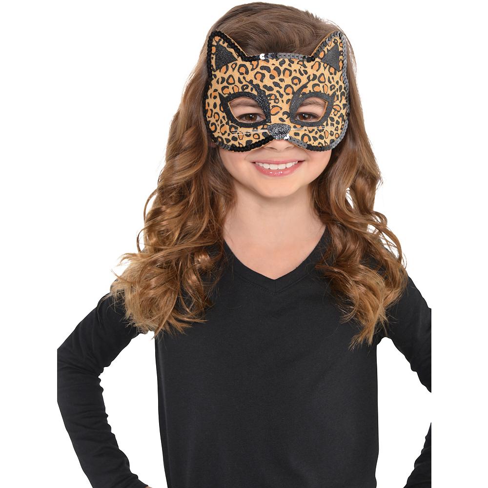 Child Leopard Mask Image #2