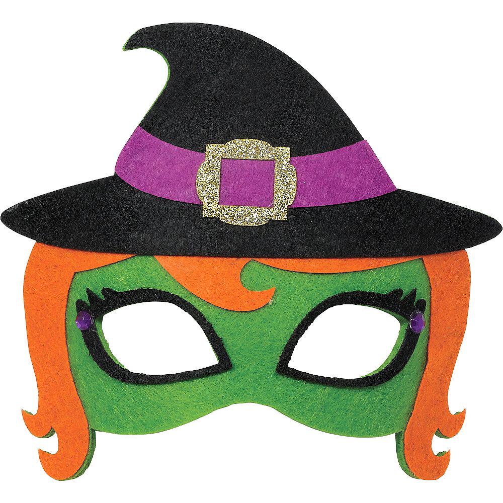 Child Witch Mask Image #1