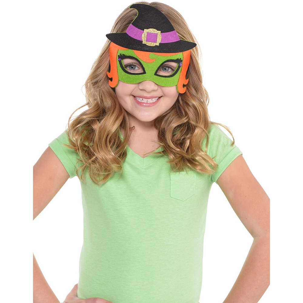 Child Witch Mask Image #2