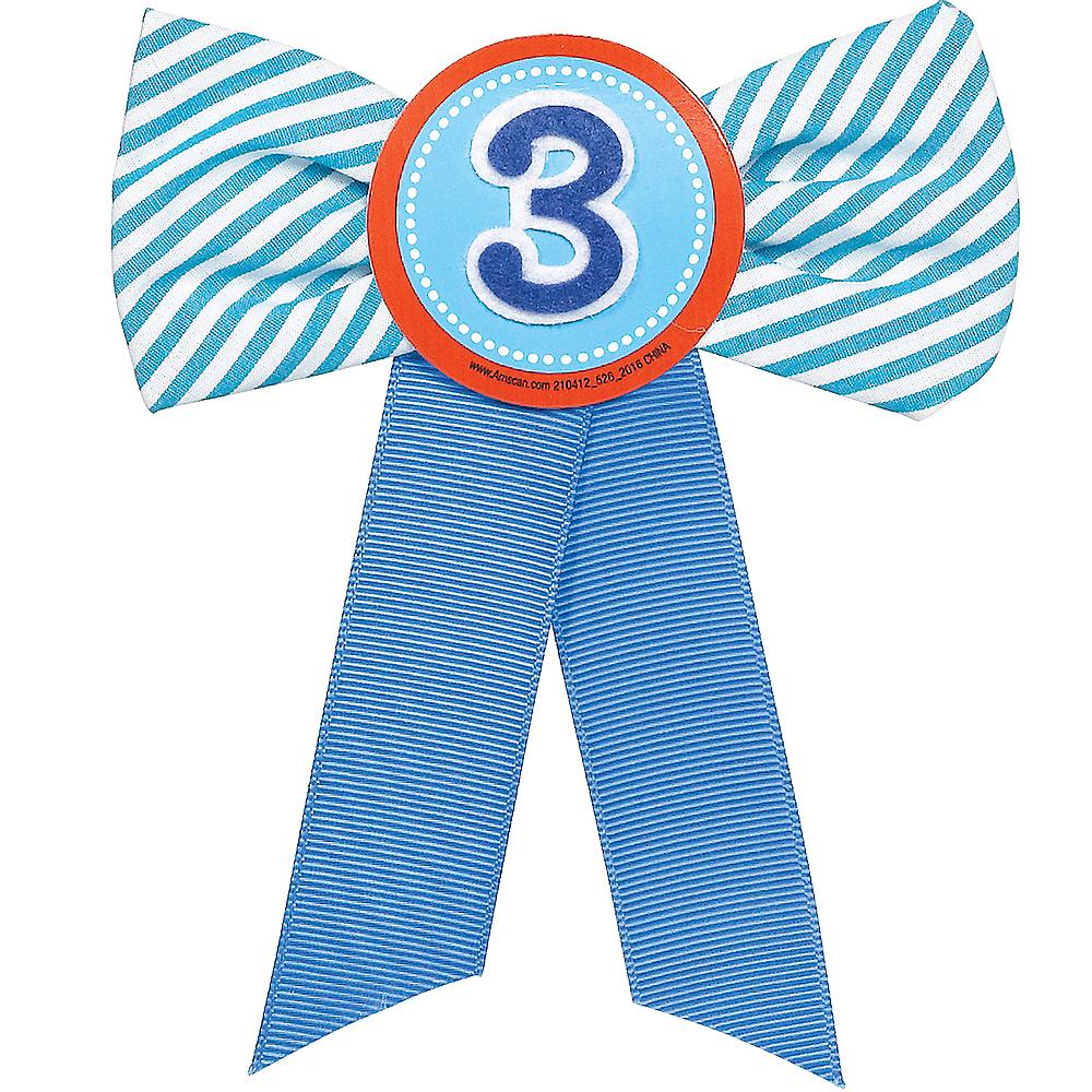 Blue 3rd Birthday Award Ribbon Image #1