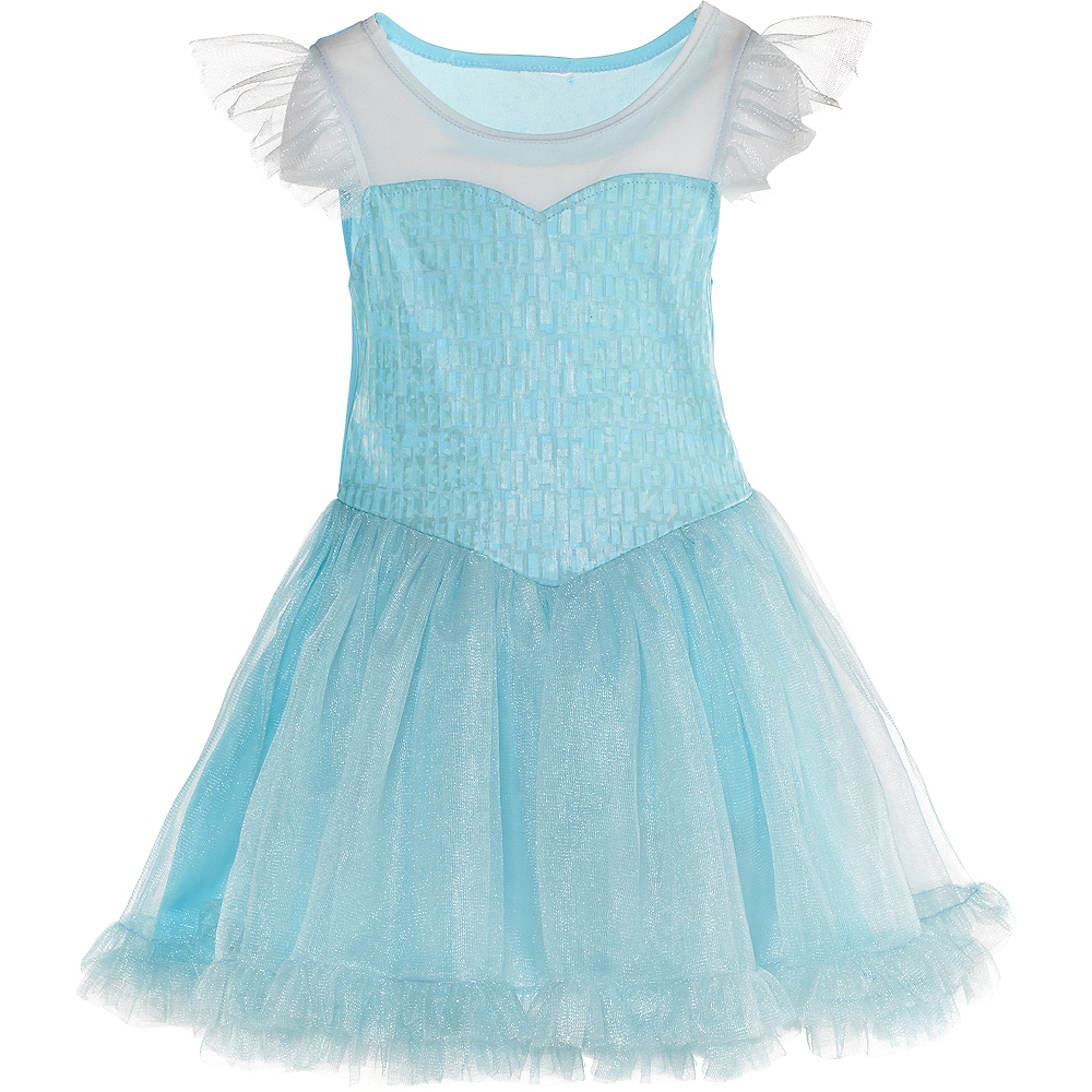 Little Girls Elsa Tutu Dress - Frozen Image #1