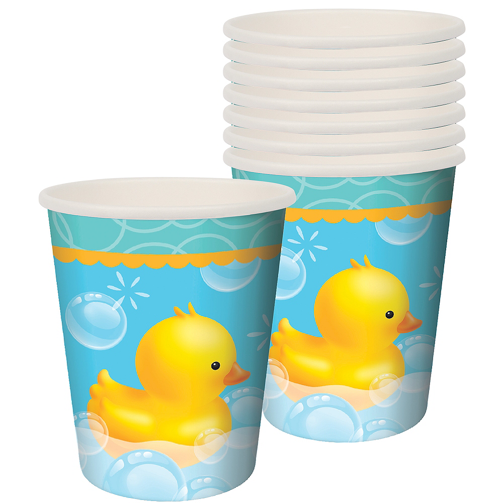 Rubber Ducky Baby Shower Cups 8ct Image #1