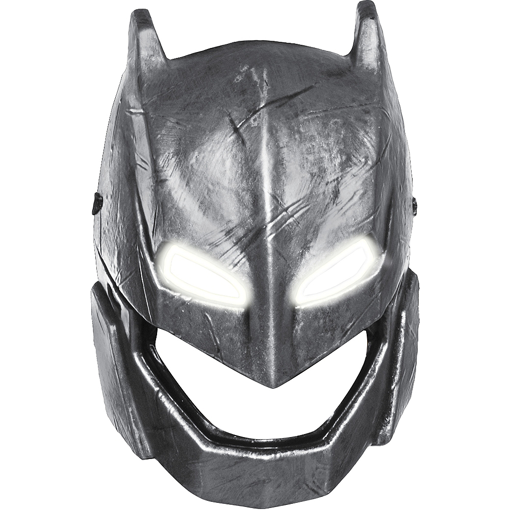 Adult Light-Up Armored Batman Mask - Batman v Superman: Dawn of Justice Image #2