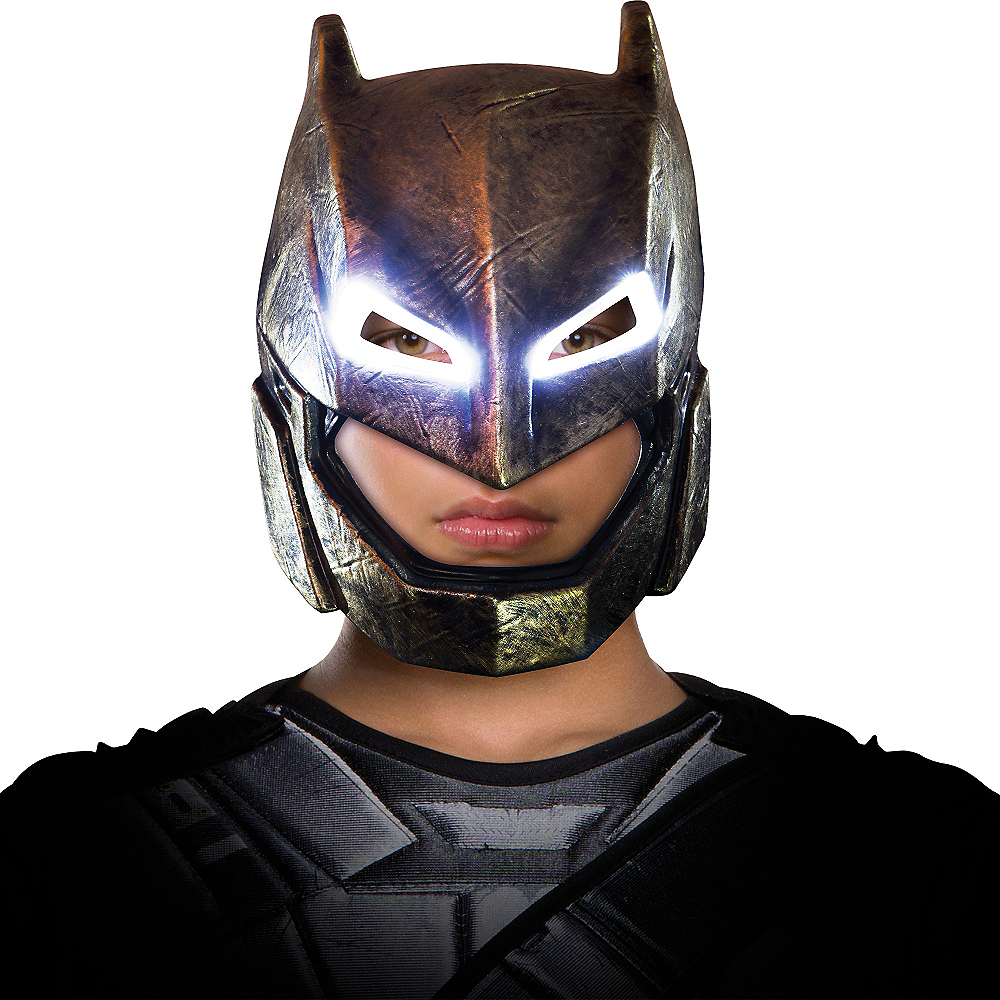 Adult Light-Up Armored Batman Mask - Batman v Superman: Dawn of Justice Image #3