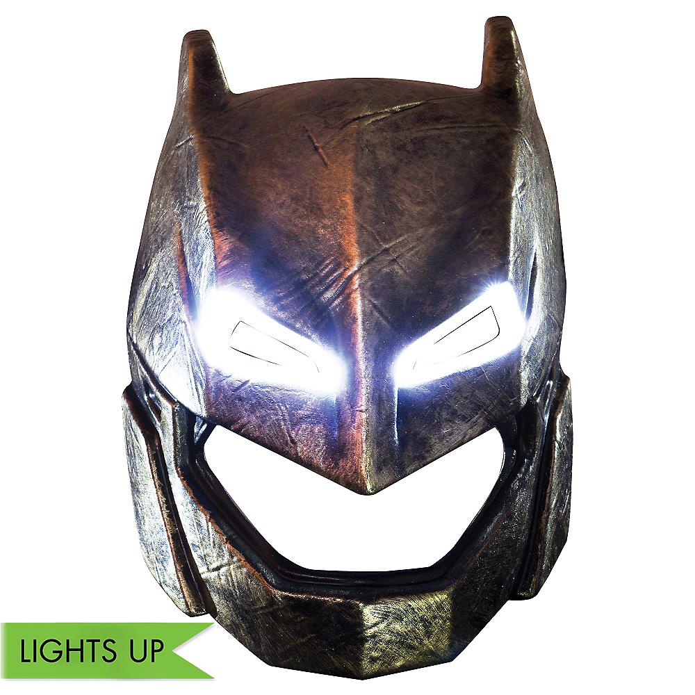 Child Light-Up Armored Batman Mask - Batman v Superman: Dawn of Justice Image #1