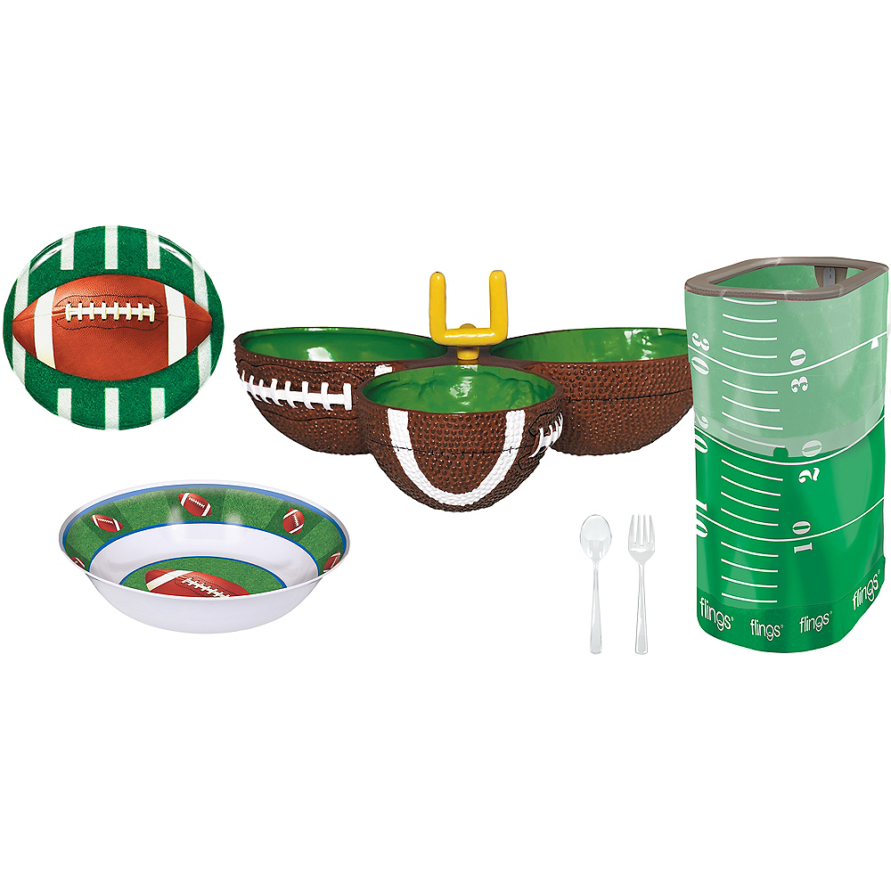 Football Serveware Party Kit Image #1