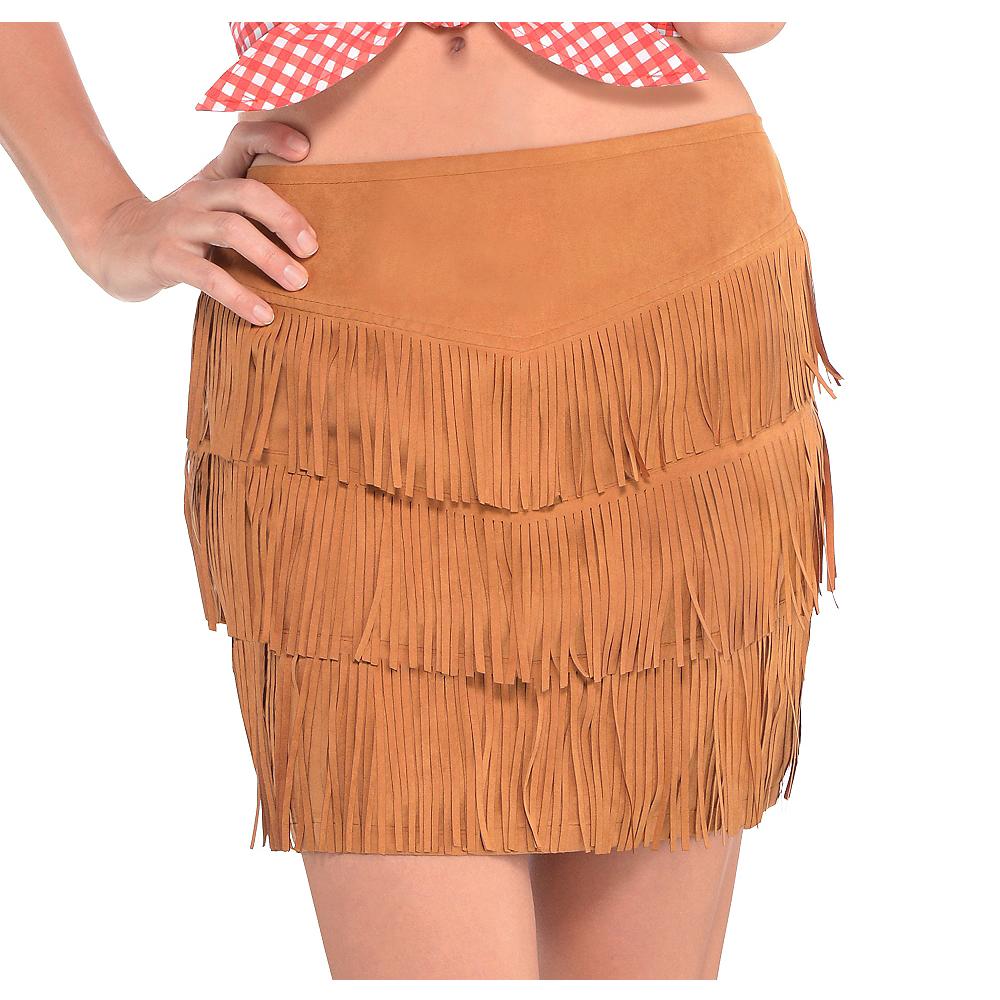Cowgirl Fringe Skirt Image #1