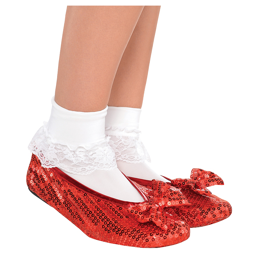 dorothy ruby slipper shoe covers 2ct wizard of oz party city canada