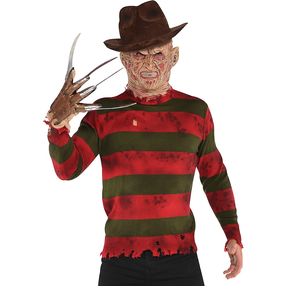 Freddy Krueger Sweater A Nightmare On Elm Street Party City