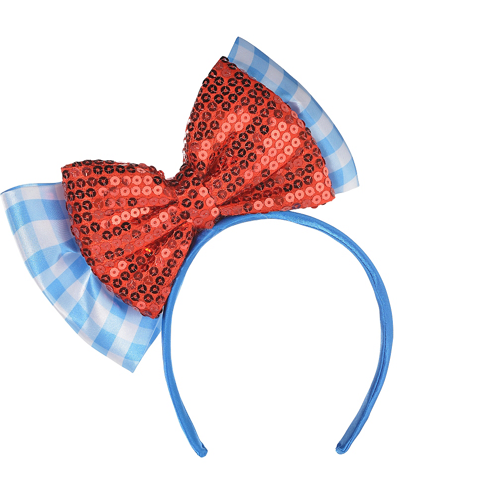 Child Dorothy Bow Headband - Wizard of Oz Image  1 8924d94dcac
