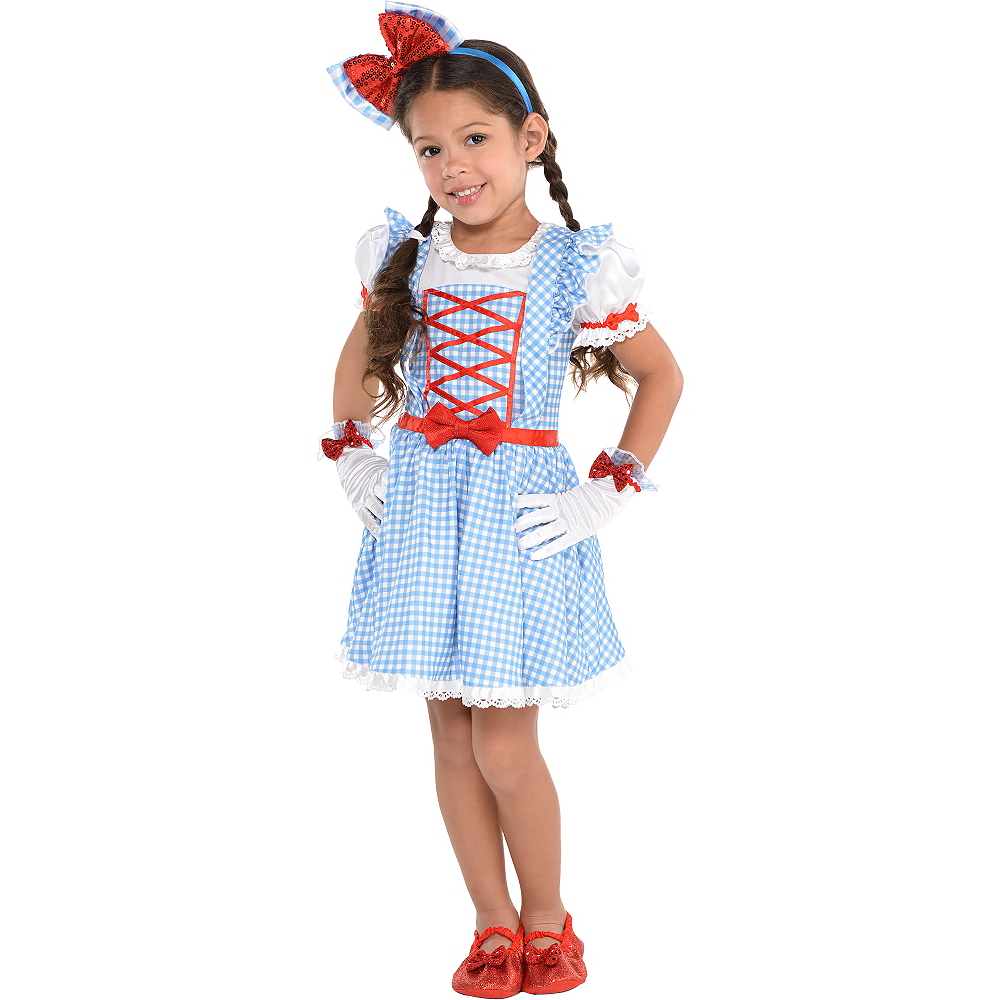 Girls Dorothy Dress - Wizard of Oz Image #1