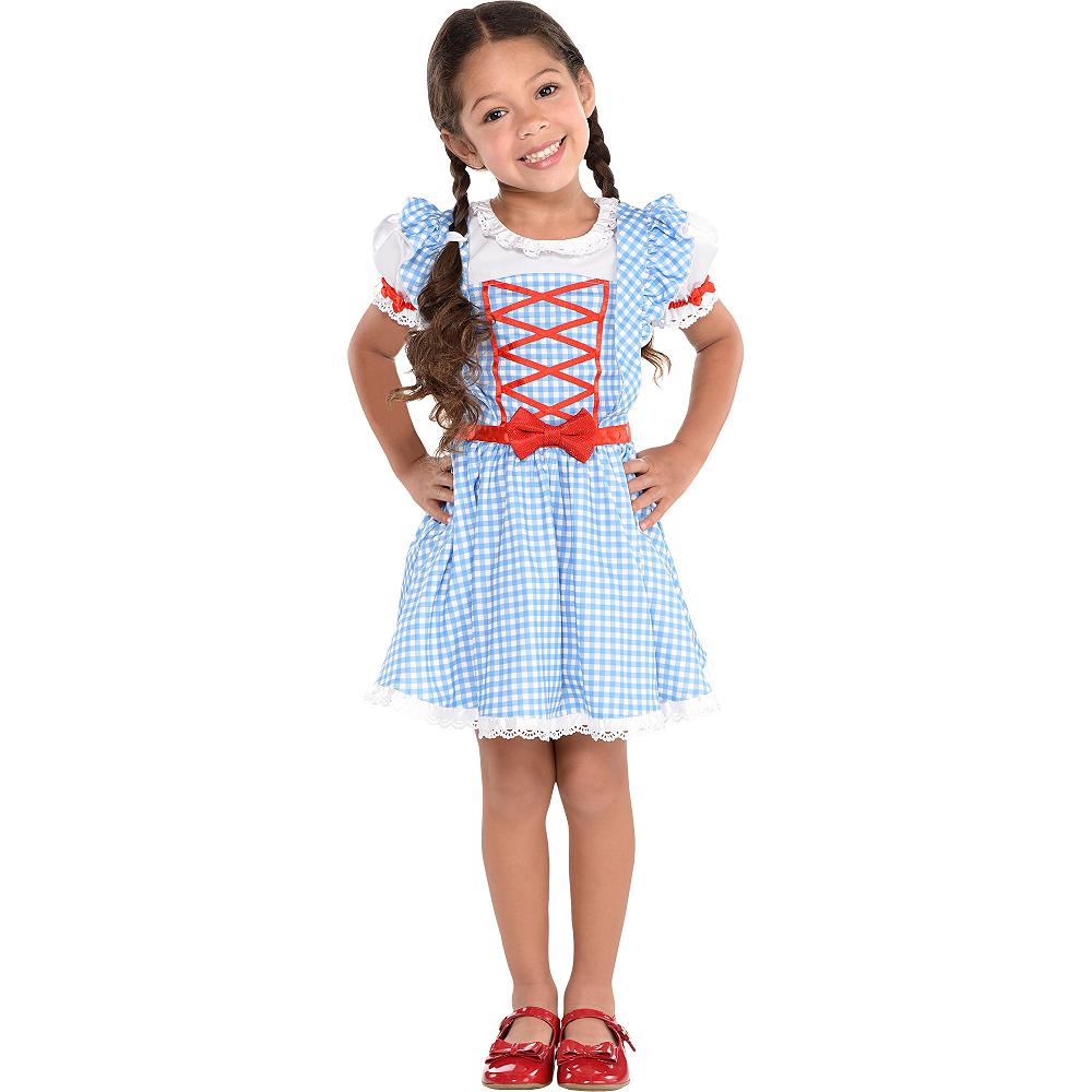 Girls Dorothy Dress - Wizard of Oz Image #2