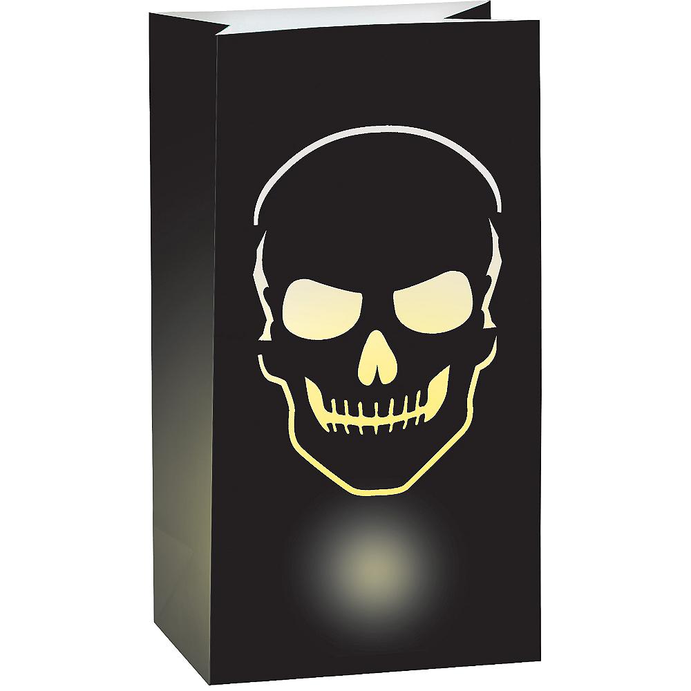 Skull Luminary Bags 6ct Image #1