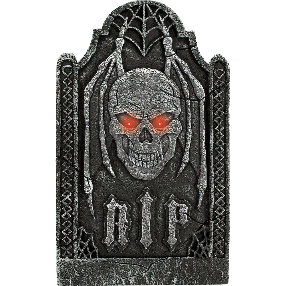 Nav Item for Light-Up Evil Tombstone Image #1