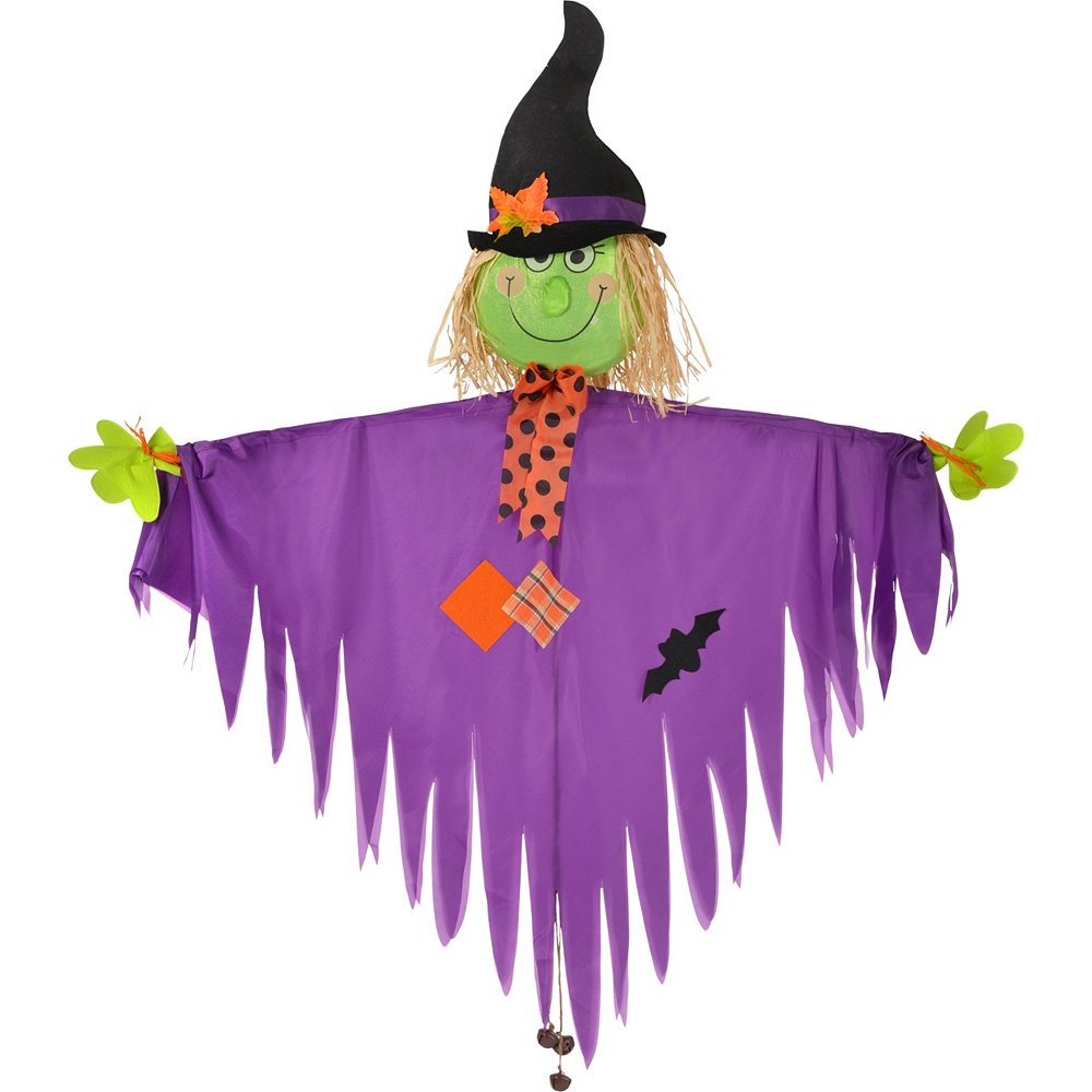 Giant Hanging Friendly Witch Image #1