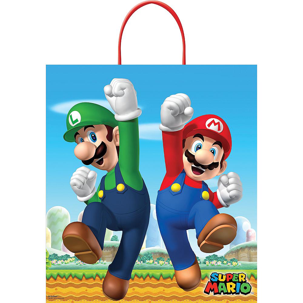 Super Mario Trick or Treat Bag Image #1