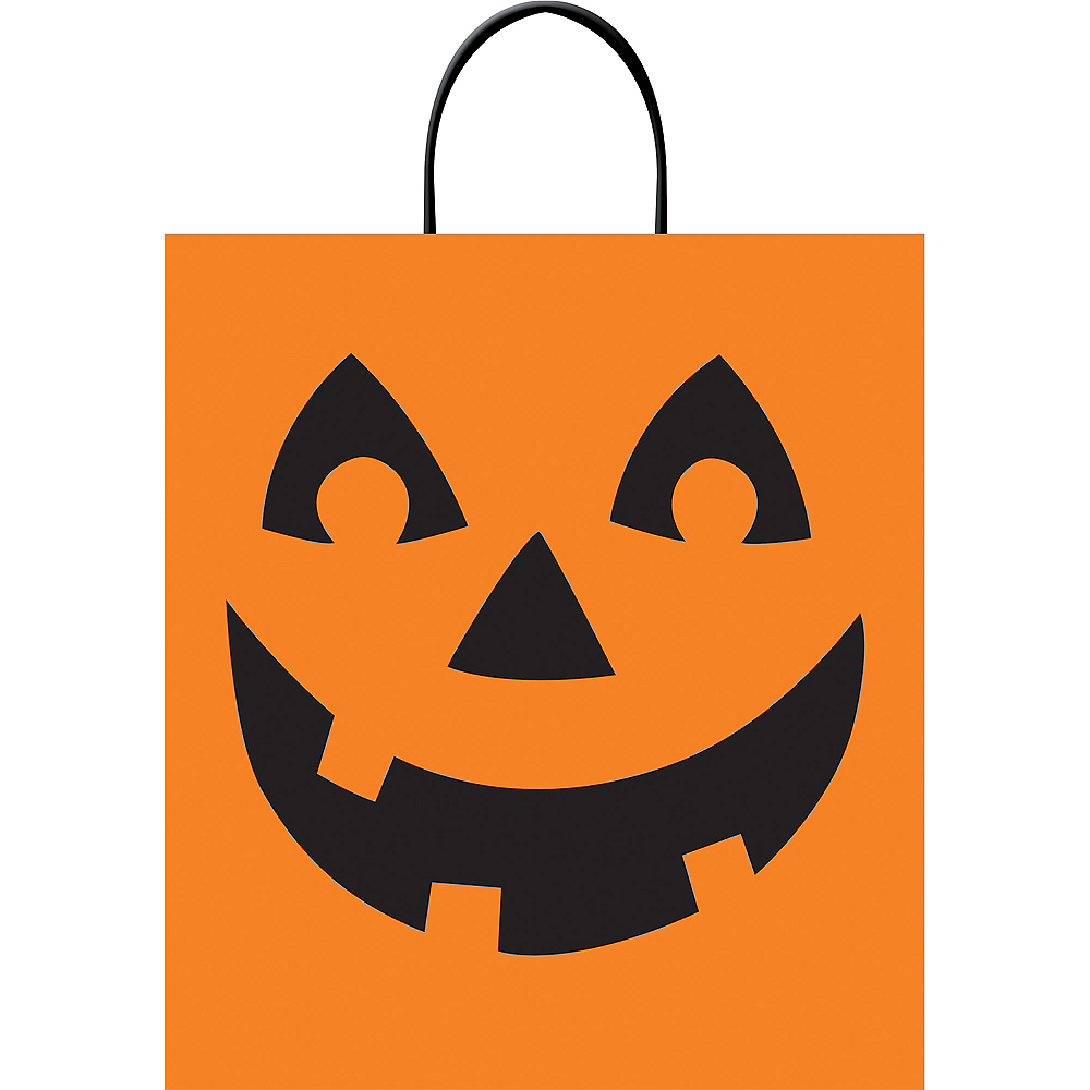 Jack O Lantern Trick Or Treat Bag 14in X 16in Party City