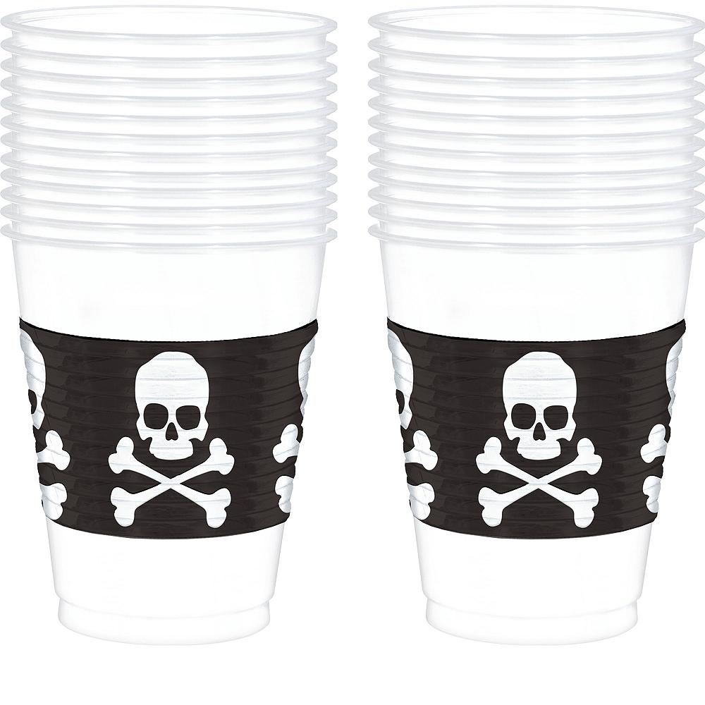 Skull & Crossbones Cups 25ct Image #1
