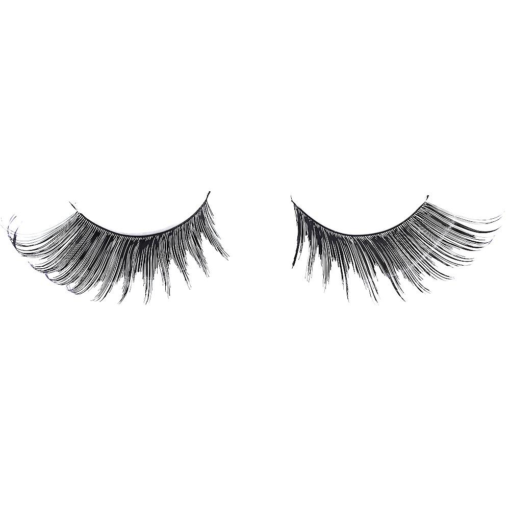 Black Flirty False Eyelashes Image #2