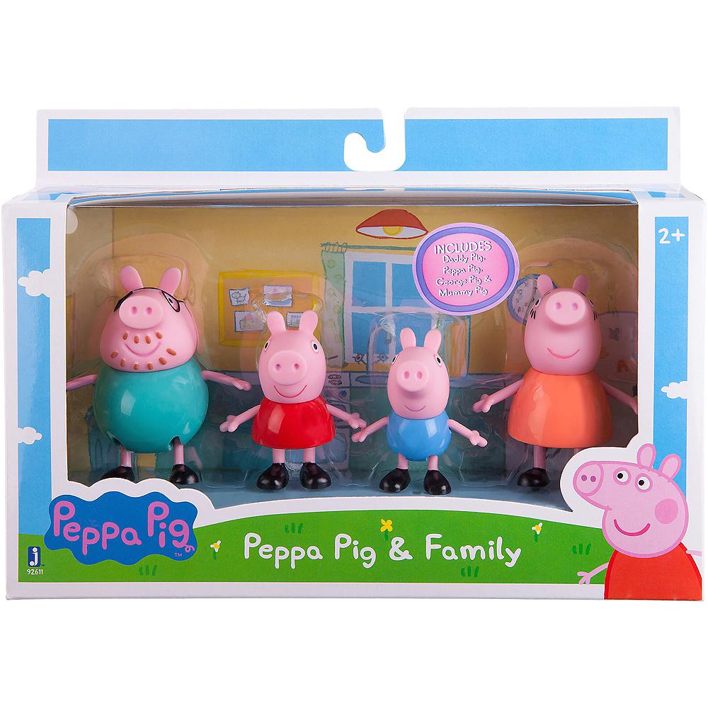 Peppa Pig & Family Playset 4pc Image #2