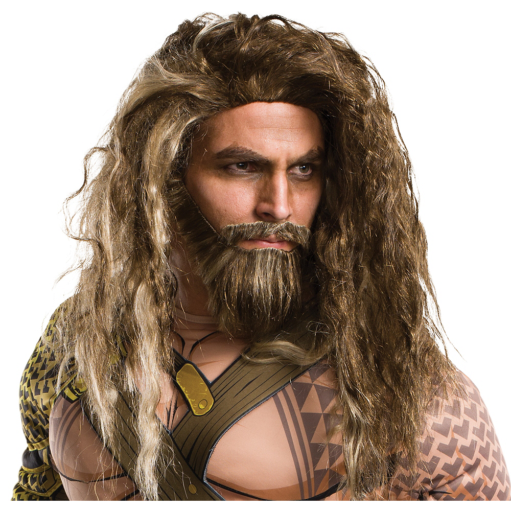 Nav Item for Aquaman Wig & Beard Set - Batman v Superman: Dawn of Justice Image #1