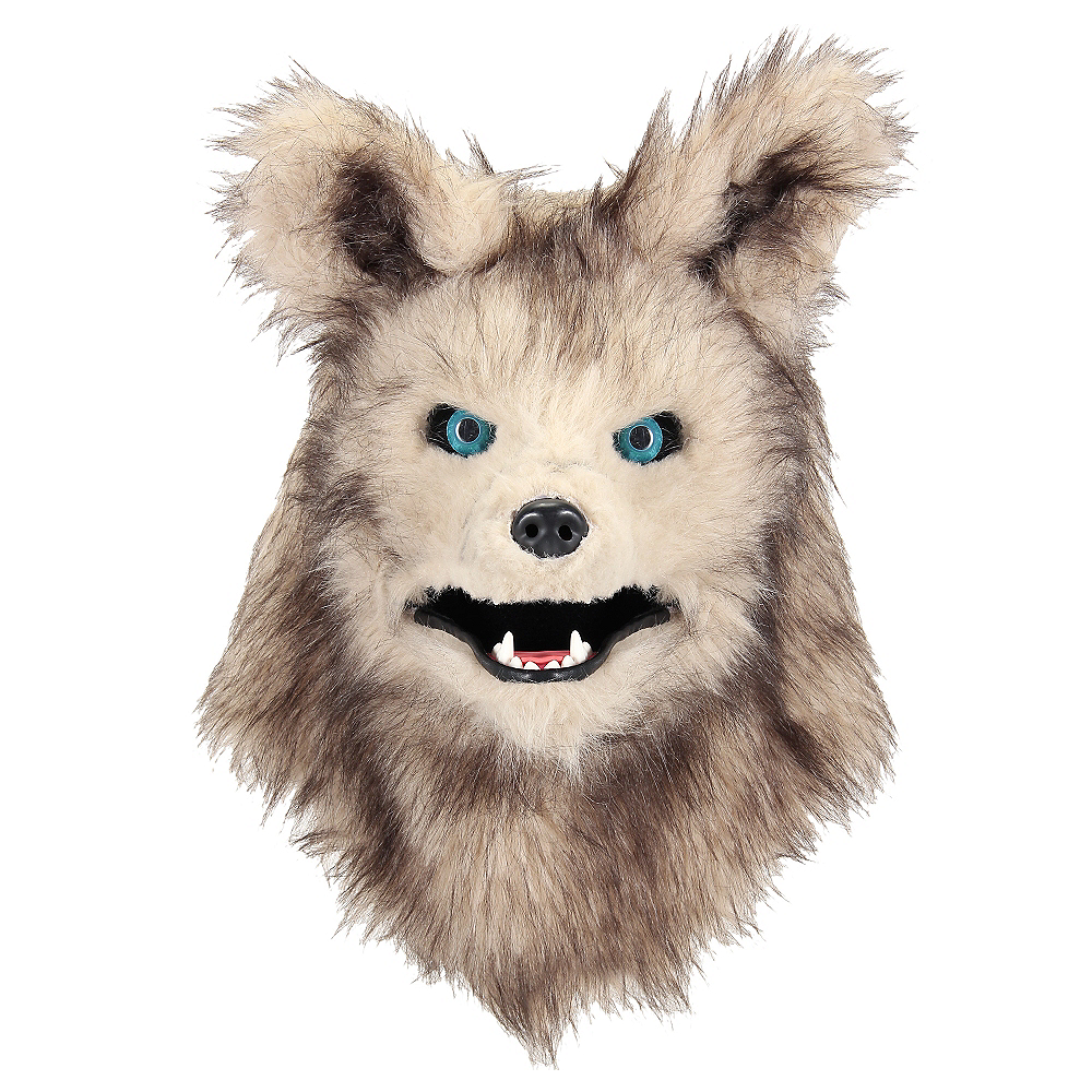 Child Akela Mask with Moving Mouth -The Jungle Book Image #1