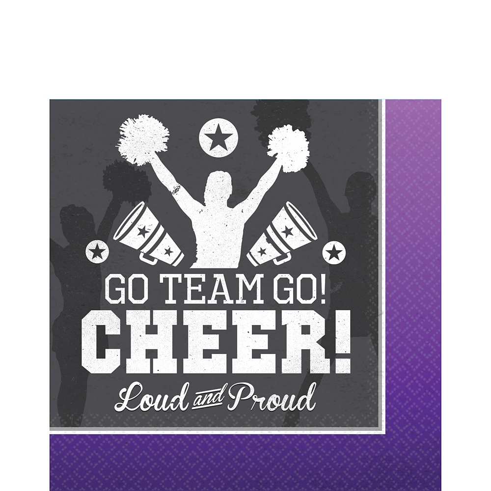 Cheer Lunch Napkins 16ct Image #1